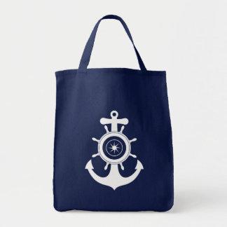 Bolso del marinero del ancla bolsa tela para la compra