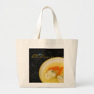 bolso del mercado de Justopia.com Bolsa Tela Grande