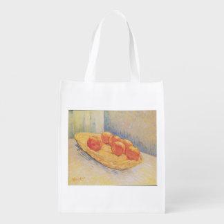 Bolso del mit ApfelsinenkorbReusable de Van Gogh Bolsa Reutilizable