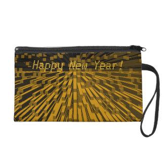 Bolso del mitón de Bagettes de la Feliz Año Nuevo