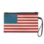 Bolso del mitón de la bandera americana