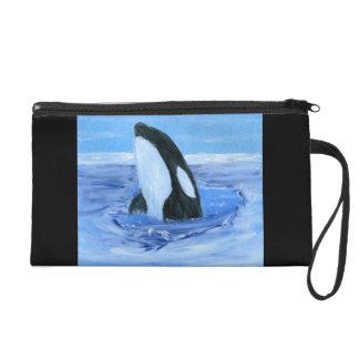 Bolso del mitón de la orca