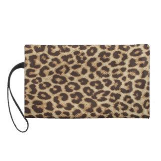 Bolso del mitón del estampado leopardo