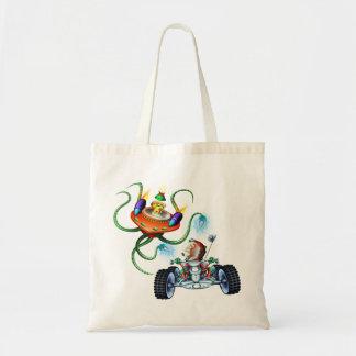 Bolso del mono del espacio bolsas de mano