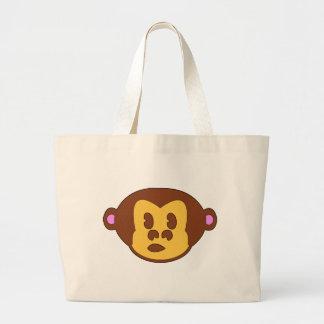 Bolso del mono del estilo de Ur pequeño Bolsa Lienzo