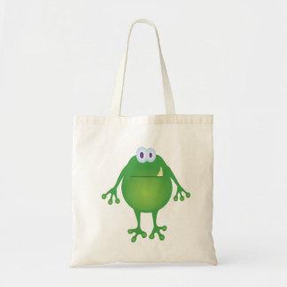 Bolso del monstruo de la rana bolsas de mano
