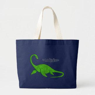 Bolso del monstruo de Loch Ness Bolsa De Tela Grande