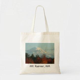 Bolso del Monte Rainier del otoño Bolsas De Mano