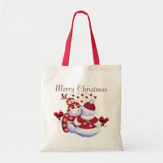 Bolso del navidad bolsa