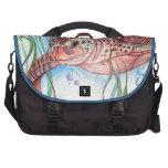 Bolso del ordenador de la tortuga de mar bolsas de ordenador