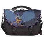 Bolso del ordenador de Ninja del dragón Bolsas De Portátil
