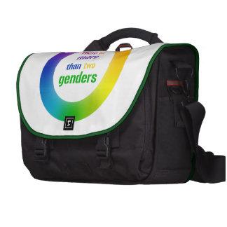 Bolso del ordenador del mensajero de la igualdad bolsas de portátil