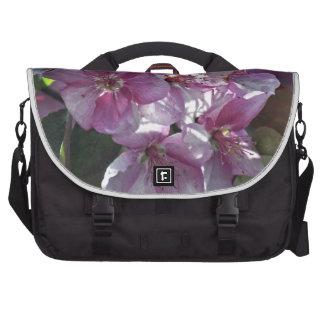 Bolso del ordenador portátil de la flor de cerezo bolsas para portatil
