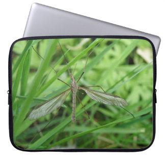 Bolso del ordenador portátil de la mosca de grúa mangas portátiles