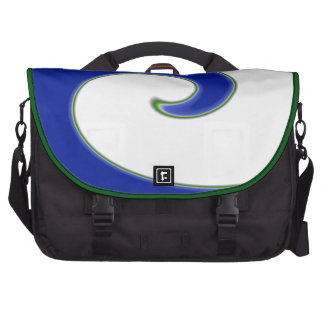 Bolso del ordenador portátil de la onda de marea bolsas para portatil