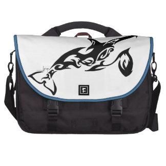 Bolso del ordenador portátil de la orca bolsas para portátil