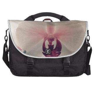 Bolso del ordenador portátil de la orquídea del ac bolsas de ordenador