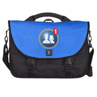 Bolso del ordenador portátil de la petición del bolsas para portatil