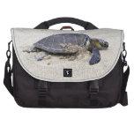 Bolso del ordenador portátil de la tortuga de mar bolsas para portátil