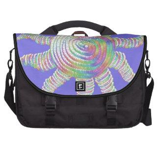 Bolso del ordenador portátil de Sun del arco iris Bolsas Para Portátil