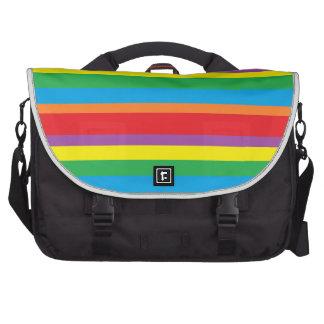 bolso del ordenador portátil del arco iris bolsas para portatil