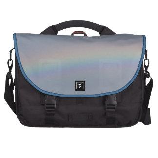 bolso del ordenador portátil del arco iris bolsas de portátil