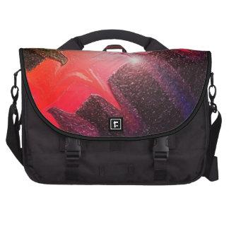 Bolso del ordenador portátil del arco iris de Red  Bolsas De Ordenador