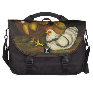 Bolso del ordenador portátil del ~ del gallo y de  bolsas de portatil