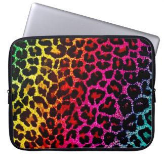 Bolso del ordenador portátil del estampado de anim mangas portátiles