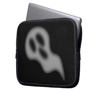 Bolso del ordenador portátil del fantasma de Hallo Funda Ordendadores