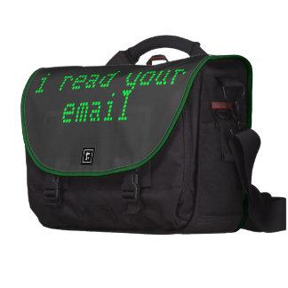 Bolso del ordenador portátil del pirata informátic bolsas de portátil