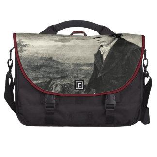 Bolso del ordenador portátil del retrato del vinta bolsas para portátil
