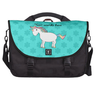 Bolso del ordenador portátil del unicornio de los  bolsas para portatil