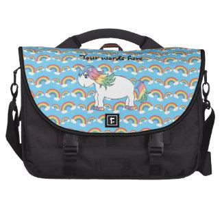 Bolso del ordenador portátil del unicornio del arc bolsas de portatil