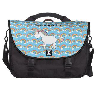 Bolso del ordenador portátil del unicornio del arc bolsas para portatil