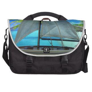 Bolso del ordenador portátil del velero de la isla bolsas de portátil