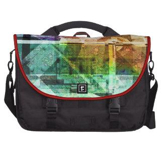 Bolso del ordenador portátil del viajero de la mot bolsas para portátil