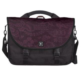 Bolso del ordenador portátil en diseño púrpura osc bolsas de portátil