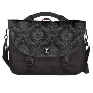 Bolso del ordenador portátil en modelo negro del d bolsas para portatil
