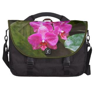 Bolso del ordenador portátil - orquídea bolsas de portátil