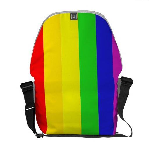 Bolso del orgullo bolsas de mensajería