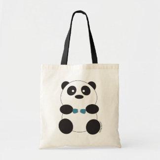 Bolso del oso de panda bolsa tela barata