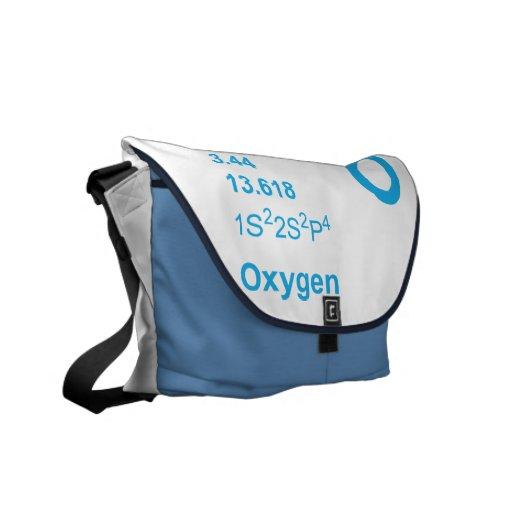 Bolso del oxígeno (azul) bolsa messenger