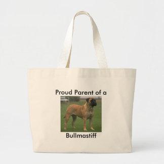 Bolso del padre de Bullmastiff Bolsa Tela Grande