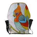 bolso del pájaro bolsa de mensajeria