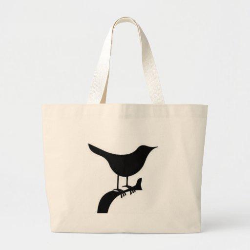 Bolso del pájaro bolsas de mano