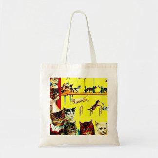 Bolso del papel de regalo del arte del poster del  bolsa tela barata