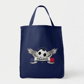 Bolso del partidario del equipo nacional del fútbo bolsa tela para la compra