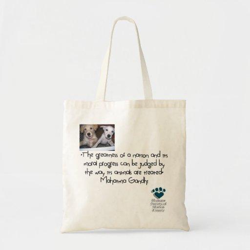 Bolso del perrito bolsas de mano