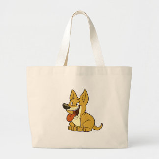 Bolso del perro bolsa lienzo